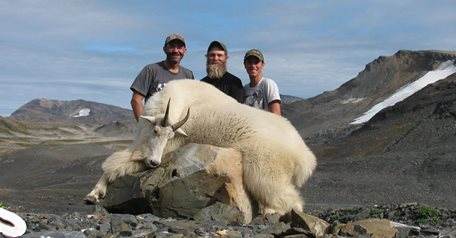 2x1 Mountain Goat Hunt in BC, Aug 1-8