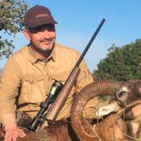 European Mouflon hunt.