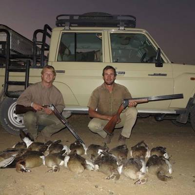 Namibian Wing shooting Package
