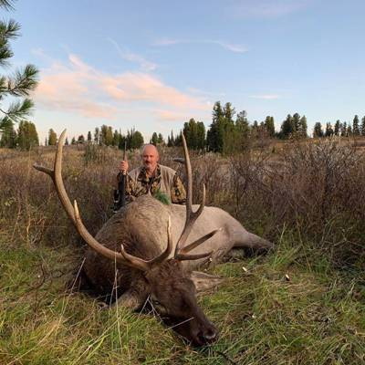 Maral Stag (Wapiti) hunt on the rut