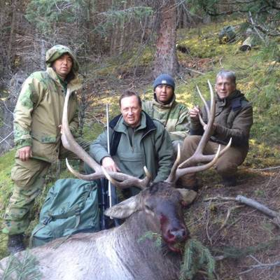Maral stag hunt