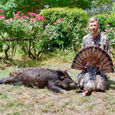 Guided Turkey/Day Hog Combination Hunt