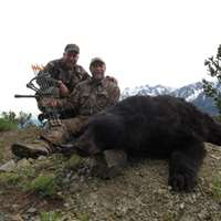 Spring Black Bear 2 on 1 Hunt 2018