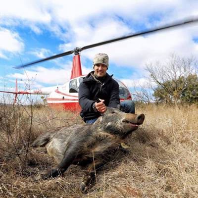 R44 2 Shooters/2 Hr Flight  No Lodging