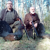 Capercaillie & Blackcock spring hunt