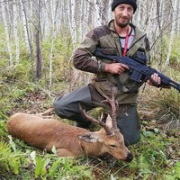 Siberian Roe deer hunt on the rut (1x1)