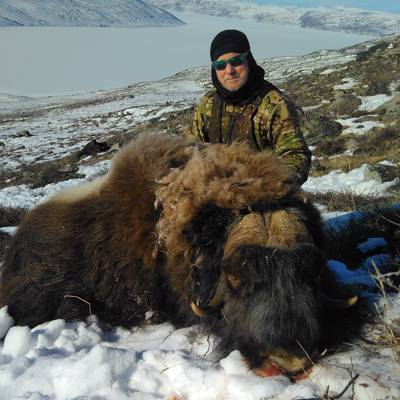 "Muskox Winter Hunt ""The Arctic Five"""