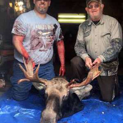 9 Day Moose Hunt