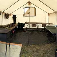 Deluxe Wall Tent C& / & Hunting trips from Covert Outfitting - BookYourHunt.com