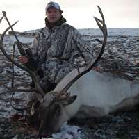 Backpack Caribou Hunt