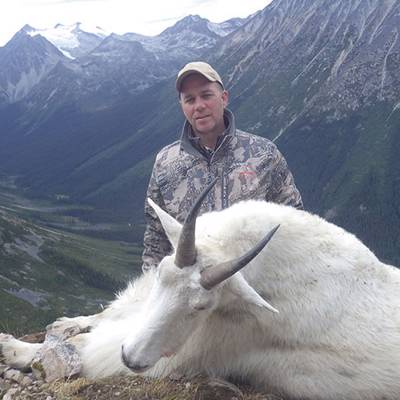 Mountain Goat 1x1 Hunt, Includes Wolf