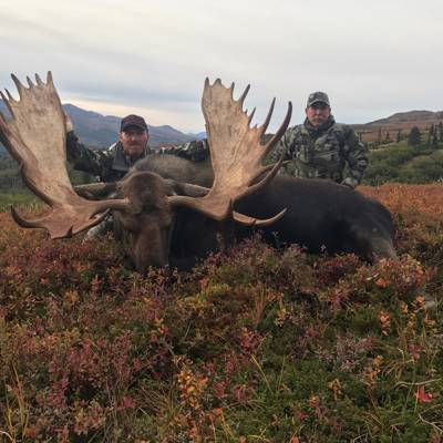 10 Day Alaska Yukon Moose Hunt