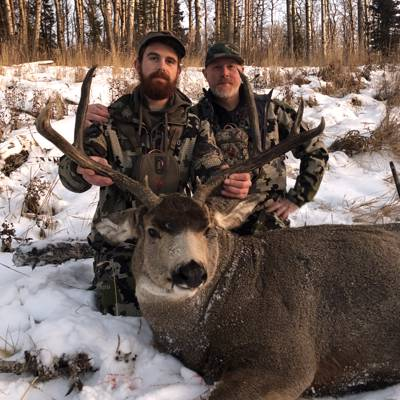 Alberta Mule Deer in Rut Nov 16-21, 2021