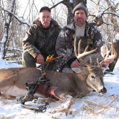 Manitoba Whitetail Deer Hunting