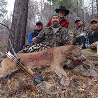 Dry Ground Mountain Lion Hunt '20
