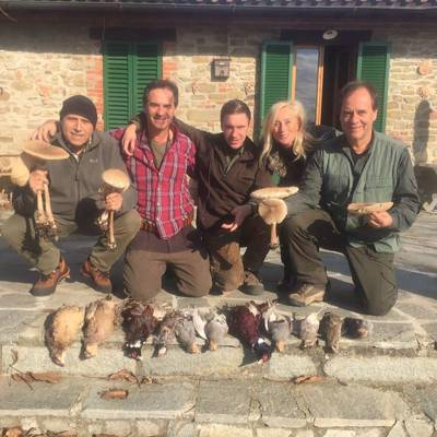 Wing shooting, fishing and wine tour