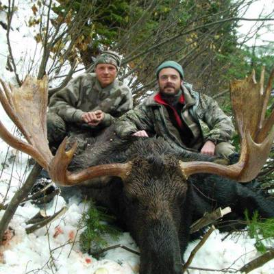 Shiras Moose/Mule Deer Combo Hunt