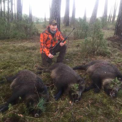 Thermal Vision Wild Boar Hunt / Wroclaw