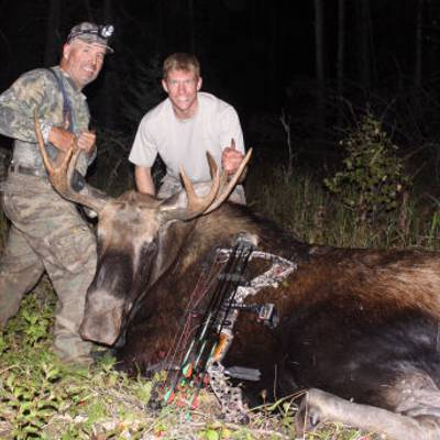 Moose Archery Pre Rut Hunt 2x1, 6 day