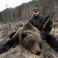 Bear bait hunt (North East Siberia)