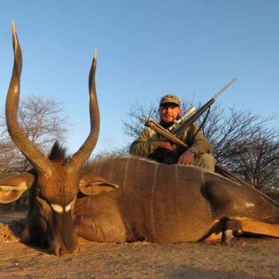 6 Day Spiral Horn Safari for 2 Hunters