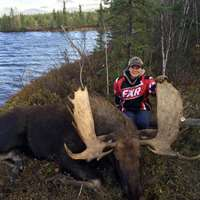 2021 Moose Remote Fly In Lake Hunt