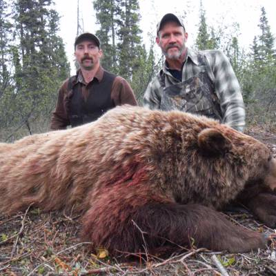 Spring Grizzly/ Black bear combo hunt