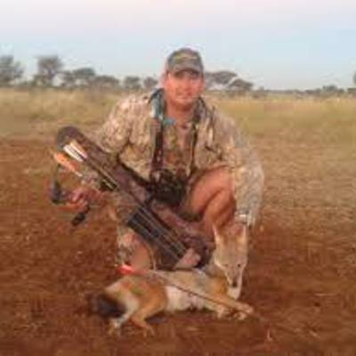 Plains game culling hunt in Namibia 2020