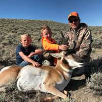 3 Day Rifle Antelope Hunt