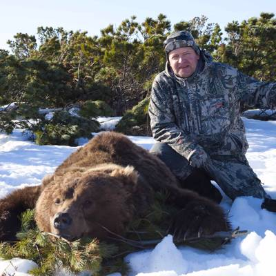 Kamchatka bear Spring hunt