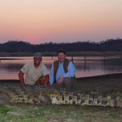 Crocodile Safari, Mozambique