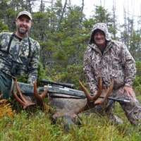 Remote Fly in Moose/Caribou Combo Hunt